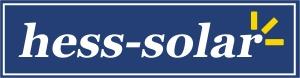 Luftkollektor SolarVenti bei hess-solar Warmluftkollektoren-Logo